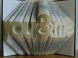 Book Paper Folding - complementing arts folded book sculptures by luciana