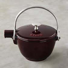 Stovetop Pizza Oven Staub Cast Iron Round Tea Kettle Williams Sonoma