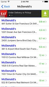 fast food finder find fastfood restaurants on the app store