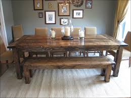 Large Wooden Dining Table by Kitchen Farmhouse Dining Chairs Farm Table And Bench Breakfast