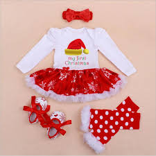 my christmas baby girl my christmas costumes 4pcs infant toddler baby