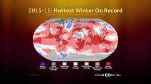 the 2015 2016 winter was the on record climate central