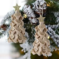 25 unique burlap ornaments ideas on burlap
