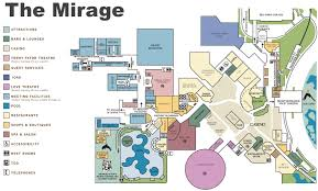 Washington Dc Hotel Map by Las Vegas The Mirage Hotel Map