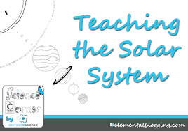 science corner teaching about the solar system