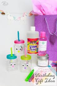 birthday gifts diy birthday gift make this slime for kids gift
