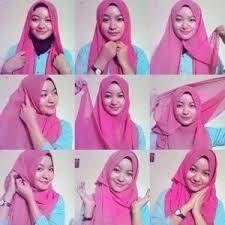 tutorial memakai jilbab paris yang simple 6 cara memakai jilbab paris simple dan modern hijabyuk com