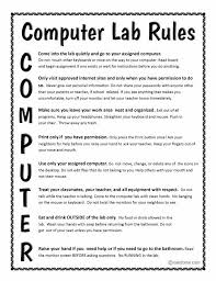 How To Decorate Computer Room Best 25 Computer Lab Rules Ideas On Pinterest Computer Lab