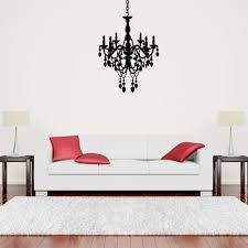 Chandelier Wall Stickers 38 Chandelier Wall Decal Chandelier Wall Decal The Decal Lab