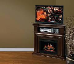 Media Electric Fireplace Black Corner Electric Fireplace U2013 Swearch Me