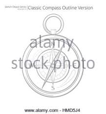 vintage compass rose drawing stock photo royalty free image