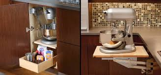 kitchen appliance storage ideas small storage solutions for kitchen appliances outofhome