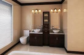 Bathroom Vanity With Linen Tower Bathroom Vanities And Linen Cabinets