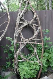 115 best willow weaving images on pinterest garden art garden