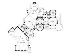 One Level House Plans Italian Mediterranean Tuscan House Plan 65881 Level One Floor