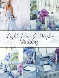 Light Blue Lavender Purple And Light Blue Beach Wedding Colour Scheme