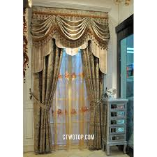 swag curtains for living room perfect swag curtain landing