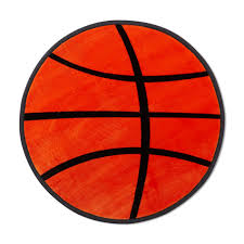 basketball area rug piper round basketball accent rug