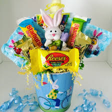 easter candy bouquet easter basket easter bunny easter gifts for