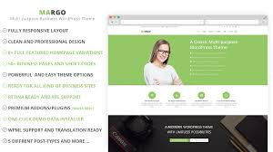margo multipurpose wordpress business theme themes u0026 templates