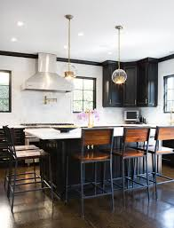 kitchen island chairs with backs bar stools with arms kitchen transitional with black cabinets