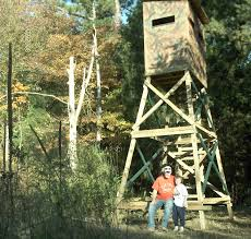 Deer Hunting Tower Blinds Hunting Blind Plans
