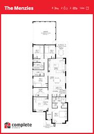 menzies floorplan complete homes 2017 house plans pinterest
