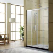 How To Fix Shower Door China Four Panel Glass Shower Door With Aluminum Frame Two Fix Two