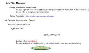Sending A Resume With No Job Posting by News For Employers Careermatrix Com