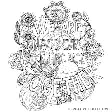 an coloring book for breakups greatist