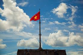 Flag With Yellow Star Vietnam Naveen Photography