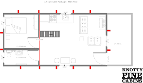 Floor Plan Image Floor Plans Alberta Cabin Packages