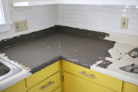 Paint For Kitchen Countertops Concrete Countertop Diy U2013 A Beautiful Mess