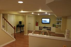 Laminate For Basement by Home Design Cozy Laminate Wood Flooring With Ceiling Lights For