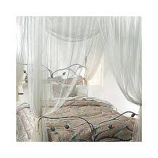 Sheer Bed Canopy White Sheer Bed Canopy 4 Corner Four Poster Bed