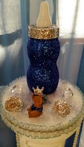 prince themed baby shower decorations jumbo glitter baby bottle with prince party themes