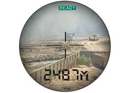 newcon lrb 3000 pro laser range finder binocular 1 86 mile range