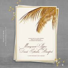 palm tree wedding invitations palm tree wedding invitation rustic vintage hawaiian