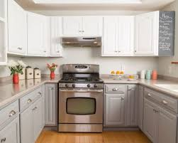 sofa captivating white painted kitchen cabinets painting oak