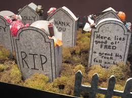 tombstones for tombstone treats 8 awesome diy tombstones for