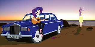 cartoon rolls royce 535252 artist garretthegarret car equestria girls human