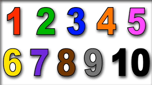 how to draw numbers for kids learn numbers and colors for