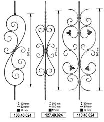 stairs interesting wrought iron railing parts stunning wrought