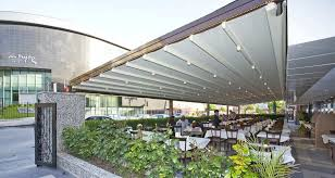 Steel Pergola With Canopy by Wall Mounted Pergola Aluminum Stainless Steel Fabric Sliding