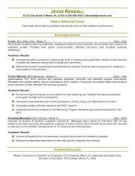 Sample Resume Bullet Points by Sample Tutor Resume Template English Tutor Resume Sample English