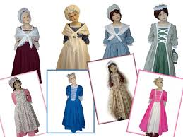 magical attic colonial style gowns at magical attic