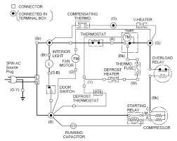 kenmore refrigerator electrical schematic wiring diagram for
