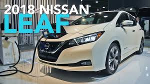 2018 nissan leaf first look youtube