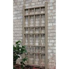 dura trel country 5 ft vinyl wall trellis hayneedle