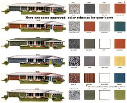 Design Home Exteriors Virtual Mid Century Modern Paint Colors Repinned By Secret Design Studio